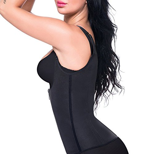Waist Trainer Corset Cincher Women Body Slimmer Tummy Control Shapewear with Adjustable Straps (L) Photo #2