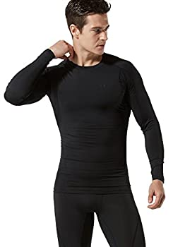 Tesla Tm-mud11-klb_medium Men's Long Sleeve T-shirt Baselayer Cool Dry Compression Top Mud11 3