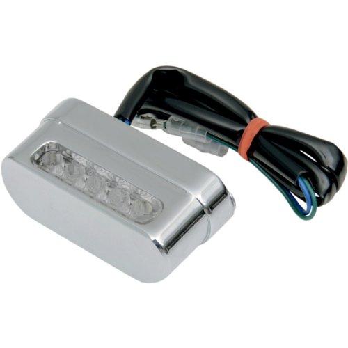 - Drag Specialties Universal LED License Plate Light - Chrome L12-6024CE