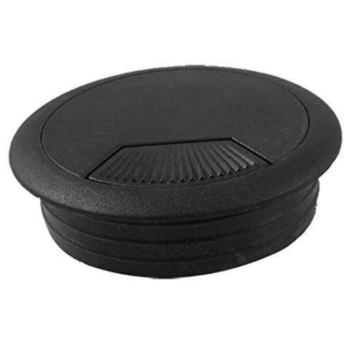 pc desk plastic grommet cable hole cover 4 pcs import it all. Black Bedroom Furniture Sets. Home Design Ideas
