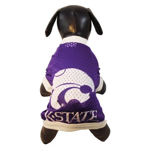 - NCAA Kansas State Wildcats Athletic Mesh Dog Jersey, Team Color, Small