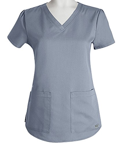 Greys Anatomy Womens Pocket Shirring