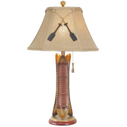 - CANOE TABLE LAMP 30
