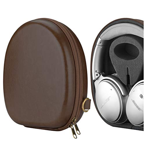 Geekria UltraShell Headphones Carrying Case, Compatible with Bose QuietComfort 35 II, QC25, QC15, SoundLink, SoundTrue, SoundLink II, SoundTrue II and More - Protective Hard Shell Headset Travel Bag
