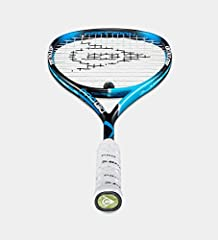 The new Dunlop Precision PRO 130 has been added with Hyperfibre + (HF) technology which gives extra stability and torsional stiffness in the center of the blade. The control and precision frame is from the Dunlop precision squash racket colle...