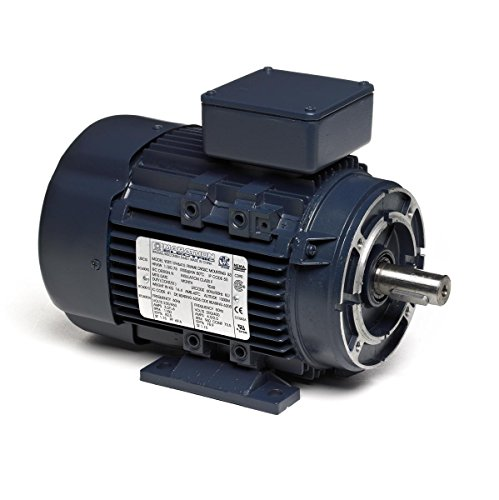 Marathon 90LT34FH6420 IEC Motor, 3 Phase, TEFC, C-Face with Base, Ball Bearing, 2.2 kW, 3600/3000 RPM, 2 Speeds, 230/460 VAC, 90LC Frame ()