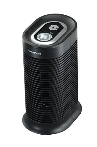 Honeywell HPA060 True HEPA Compact Tower Allergen Remover, 75 Sq Ft