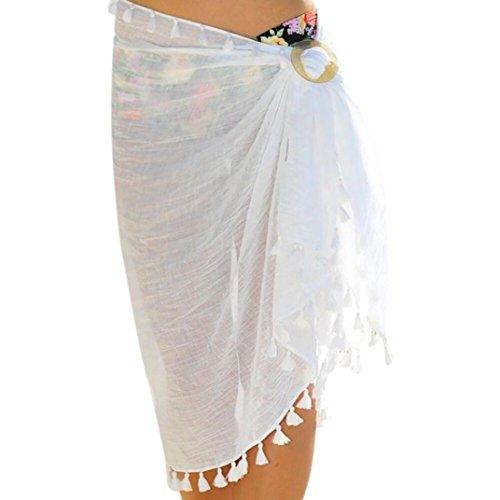Tribale Cerimonia Etnico Cover Donna Multi Bianco Sarong Cocktail Coprire Chiffon Up Abiti Elegante Skirt Gonna Donna Spiaggia Sexy Nappe Indossare Beach Italily Spiaggia g16xvx