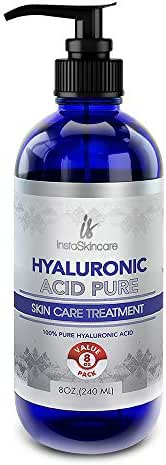 Hyaluronic Acid for Face - 100% Pure Medical Quality Clinical Strength Formula - Anti Aging Formula for Your Skin (8 oz)