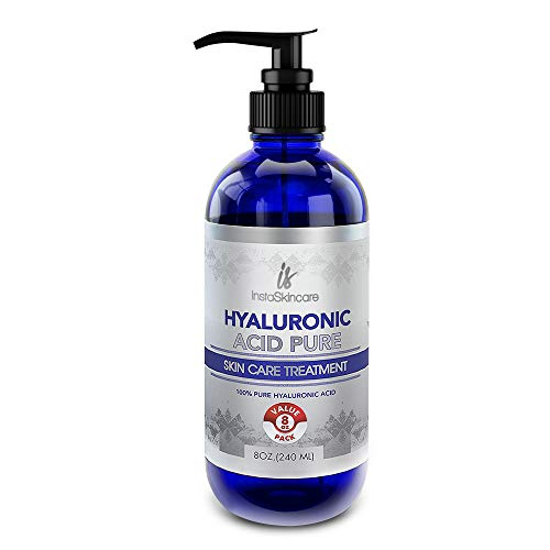 Hyaluronic Acid for Face - 100% Pure Medical Quality Clinical Strength Formula - Anti Aging Formula for Your Skin (8 oz) (Best Anti Aging Serum For 30s)