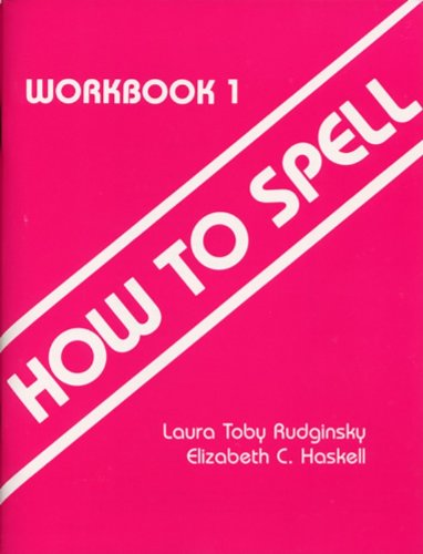 How to Spell, Workbook 1