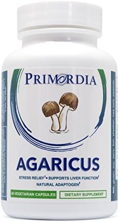 Primordia Agaricus blazei Capsules Natural Stress Relief