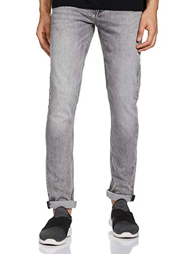 Lee Cooper Men's Skinny Fit Jeans 2021 August Care Instructions: Machine Wash Fit Type: Skinny Color: Grey