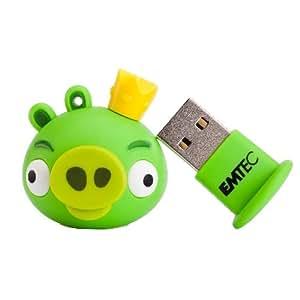 Emtec EKMMD4GA101 - Memoria USB de 4 GB, diseño King Pig