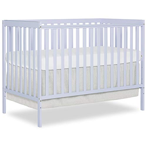 - Dream On Me Synergy 5 in 1 Convertible Crib, Lavender Ice
