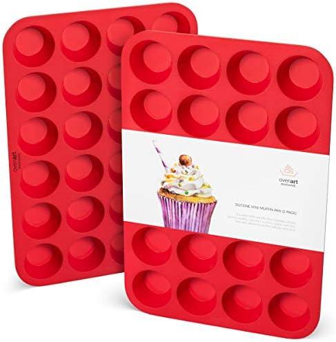 OvenArt Bakeware European Silicone Muffin