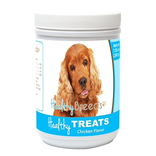 - Healthy Soft Chewy Dog Treats for Cocker Spaniel - Over 80 Breeds - Tasty Flavored Snack - Small Medium or Large Pets - Training Reward - 7oz