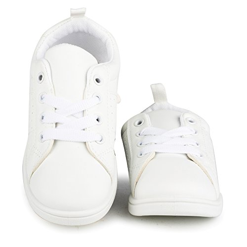 Pictures of Chillipop White Fashionable SneakersGirls Tennis Shoes 12 M US Little Kid 4