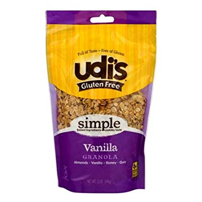 Udi's Gluten Free Granola, 12 Ounce (Pack of 3)
