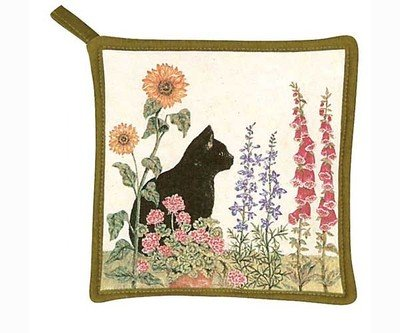 Alice's Cottage AC2114 Black Cat Pot Holder by Alice's Cottage