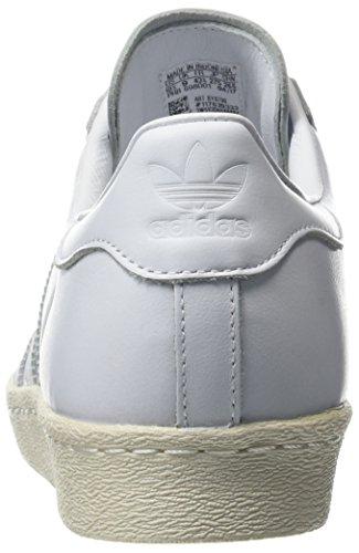 Blanc Ftwbla Cork Chaussures Fitness Casbla Superstar W ftwbla De 80s Adidas Femme wq8HFHR