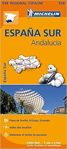 Espana sur : andalucia (Régional Espagne): Amazon.es: Michelin ...