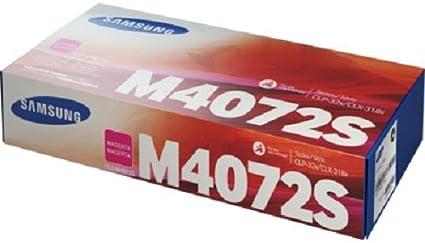 Samsung Clt M4072s Els Original Toner Kompatibel Mit Clp 320 Clp 325 Clx 3185 Series Magenta Bürobedarf Schreibwaren
