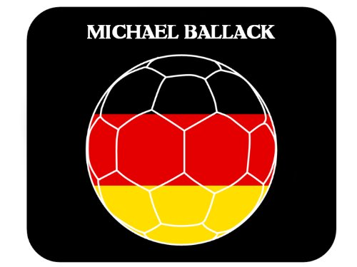 Michael Ballack (Germany) Soccer Mouse Pad