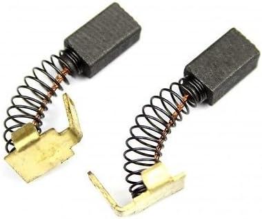 2x escobillas de carbón para corta-setos Black & Decker GT450,GT480,GT501,GT510,GT515