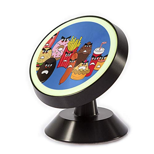 Wawoo Magnetic Car Mount Healthy Cartoon Food 360 Degree Mini Tablet and More ()