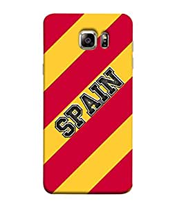 ColorKing Football Spain 03 Multi Color shell case cover for Samsung S6