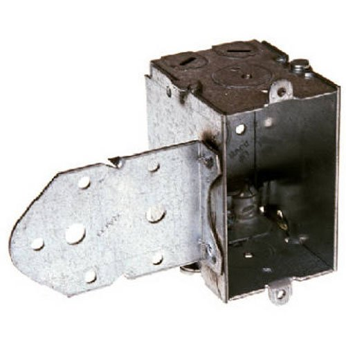 Hubbell-Raco Incorporated711997 Deep Long B Bracket Steel Switch Box, 3 by 2-1/2D-Inch
