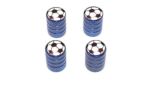 Balón de fútbol - deporte neumático válvula de llanta Stem Caps ...