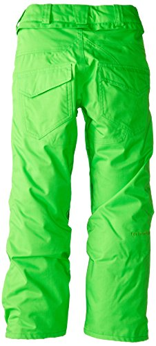 Volcom Big Boys' Battlefield Insulated Pant, Electric Green, Medium by Volcom (Image #2)