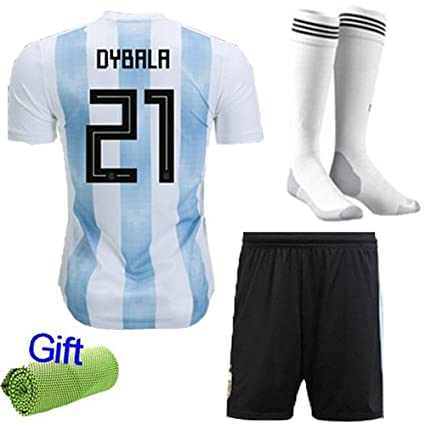 dae416d8922 FC FirstClass 2018 World Cup Football Soccer Club Short Sleeve Jersey Kids  Boy Youth 3-