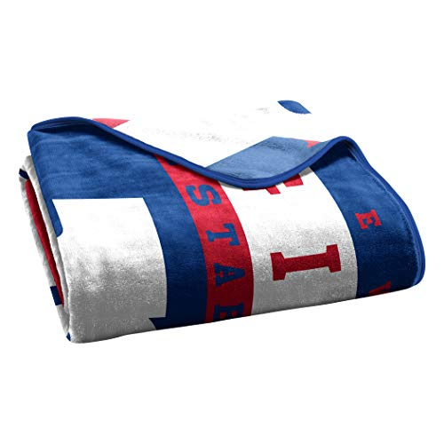 fd9ce2a04 The Northwest Company Officially Licensed NFL New York Giants 12th Man Plush  Raschel Throw Blanket