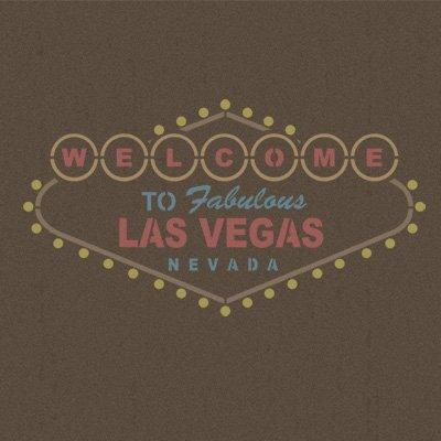 TODO-STENCIL Pared Cartel 004 Las Vegas. Tamaño Mediano 70 x ...
