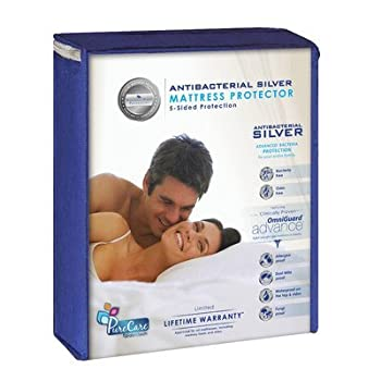 """Advance Silver 5-Sided Mattress Protector Size: King, Depth: 8-13.5"""""""