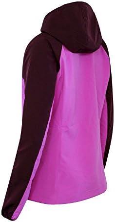 Columbia Green Lake Damen Softshelljacke mit Kapuze und durchgehendem Reißverschluss