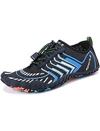 a65b362ceb2f Summer Water Shoes Men Women Quick Drying Swim Surf Beach Pool Shoes Wide  Toe Hiking Aqua