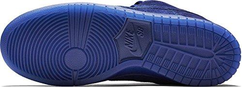 Nike Herren Dunk Low Premium Ankle-High Leder Fashion Sneaker Tiefes Königsblau / Tiefes Königsblau // Tiefes Königsblau