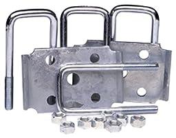 Tie Down Engineering 81185 Square Marine Axle Tie Plate Kit