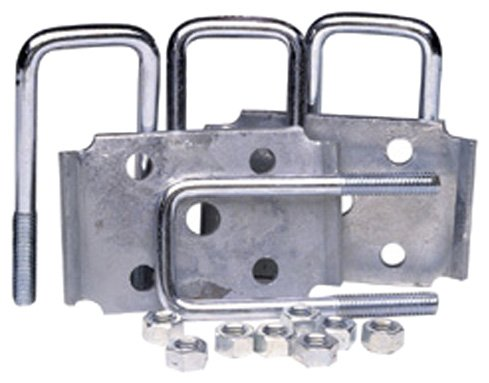 Tie Down Engineering 81185 Square Marine Axle Tie Plate Kit