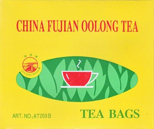China Oolong Tea - China Fujian Oolong Tea 100 Bags