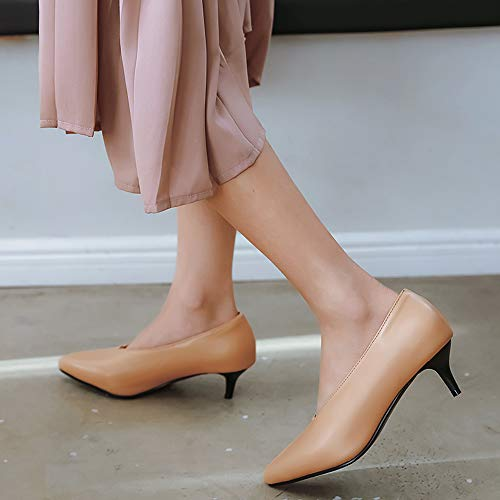 Lydee Donne Heels Kitten Moda Apricot Pumps rrA6aH