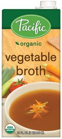 Pacific Foods Organic Vegetable Broth, 32oz, 12-pack ()