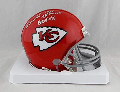 Emmitt Thomas Autographed KC Chiefs TB Mini Helmet w/HOF -Jersey Source Auth ()