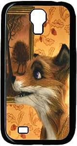 Fine Fantastic Mr.Fox Mr Fox Galaxy S4, Galaxy Cover, Plastic Back Case Cover(Black)