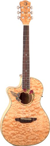 Luna FAU HUM L Fauna Hummingbird Lefty Acoustic-Electric Gui