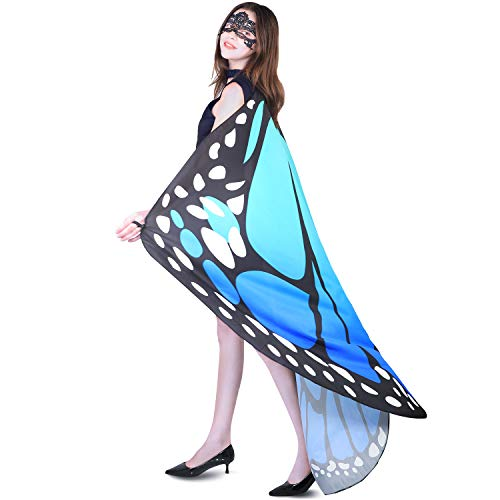 Adult Butterfly Halloween Costume - YXwin Halloween Costumes for Women Butterfly